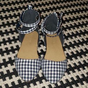 Checkered Girls Flats